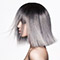 Retouche Cheveux - Subtil Ice Color - Carré gris