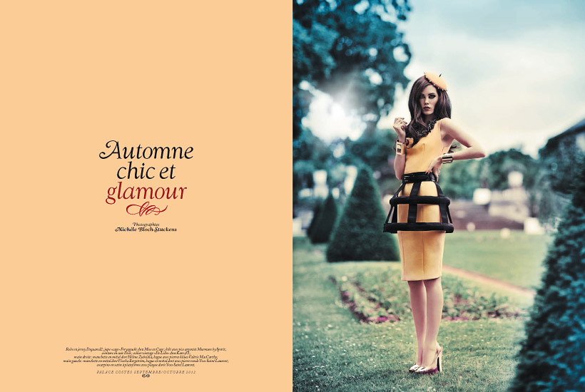 Palace Costes n°43 - Édito Automne chic et glamour